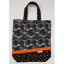Grand sac d'Halloween phosphorescent